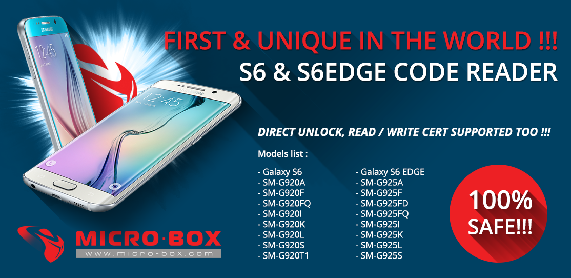 Samsung S6 - S6EDGE etc    FIRST IN THE WORLD: SAFE READ