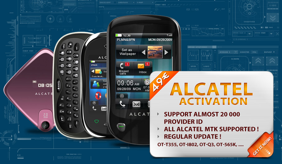 ... online ! - NEW ACTIVATION ALCATEL MTK - 15000 PID SUPPORTED