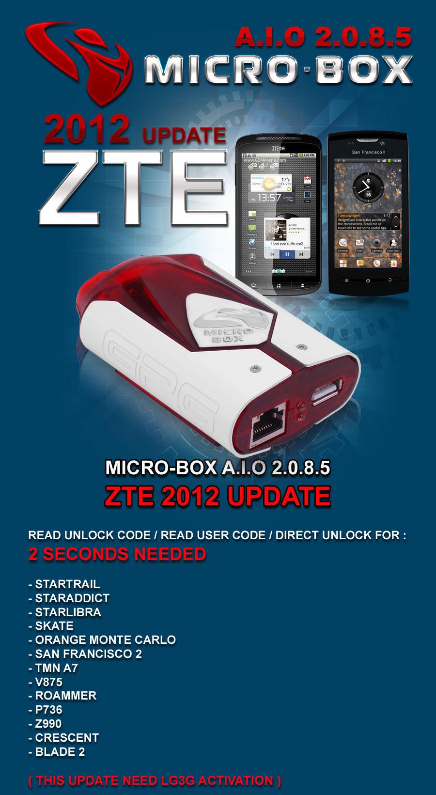 6 Apr 12 Micro-Box AIO V2.0.8.5 = ZTE 2012 Read Code, Read User Code, Direct UNLOCK ! 2012-04-05-micro-box-2085