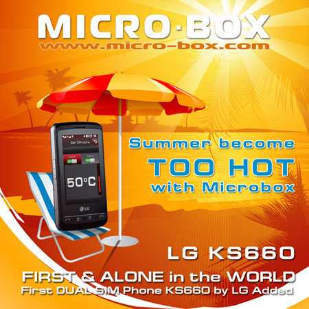 2/06/2009 Hot Summer Microbox Update the First dual sim LG KS660 free for All Lg_ks660