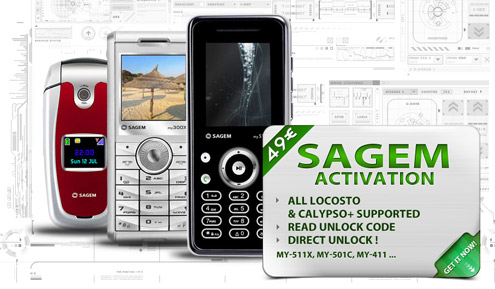 SAGEM / SE ACTIVATION - Activa...